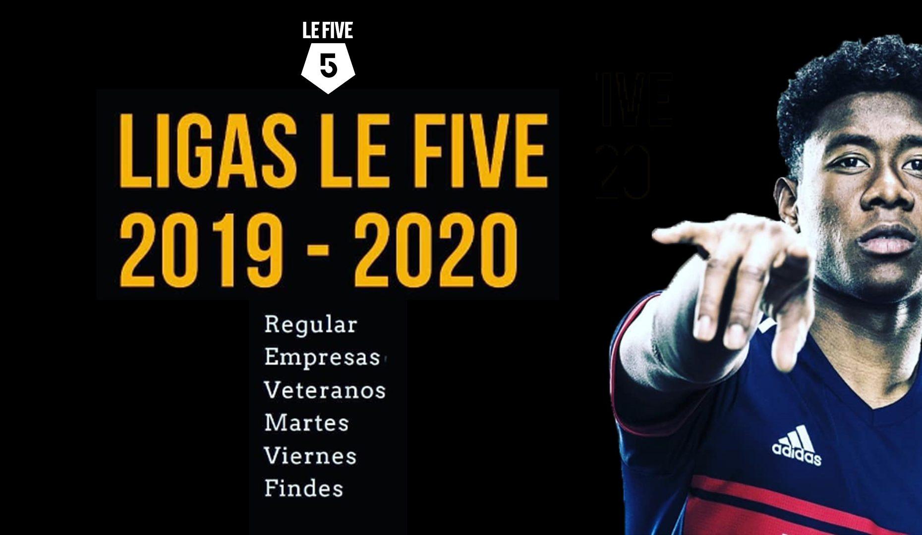 LIGA FUTBOL 19 - 20