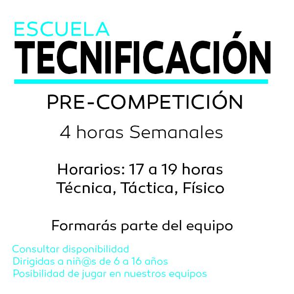 Escuela Tecnificación