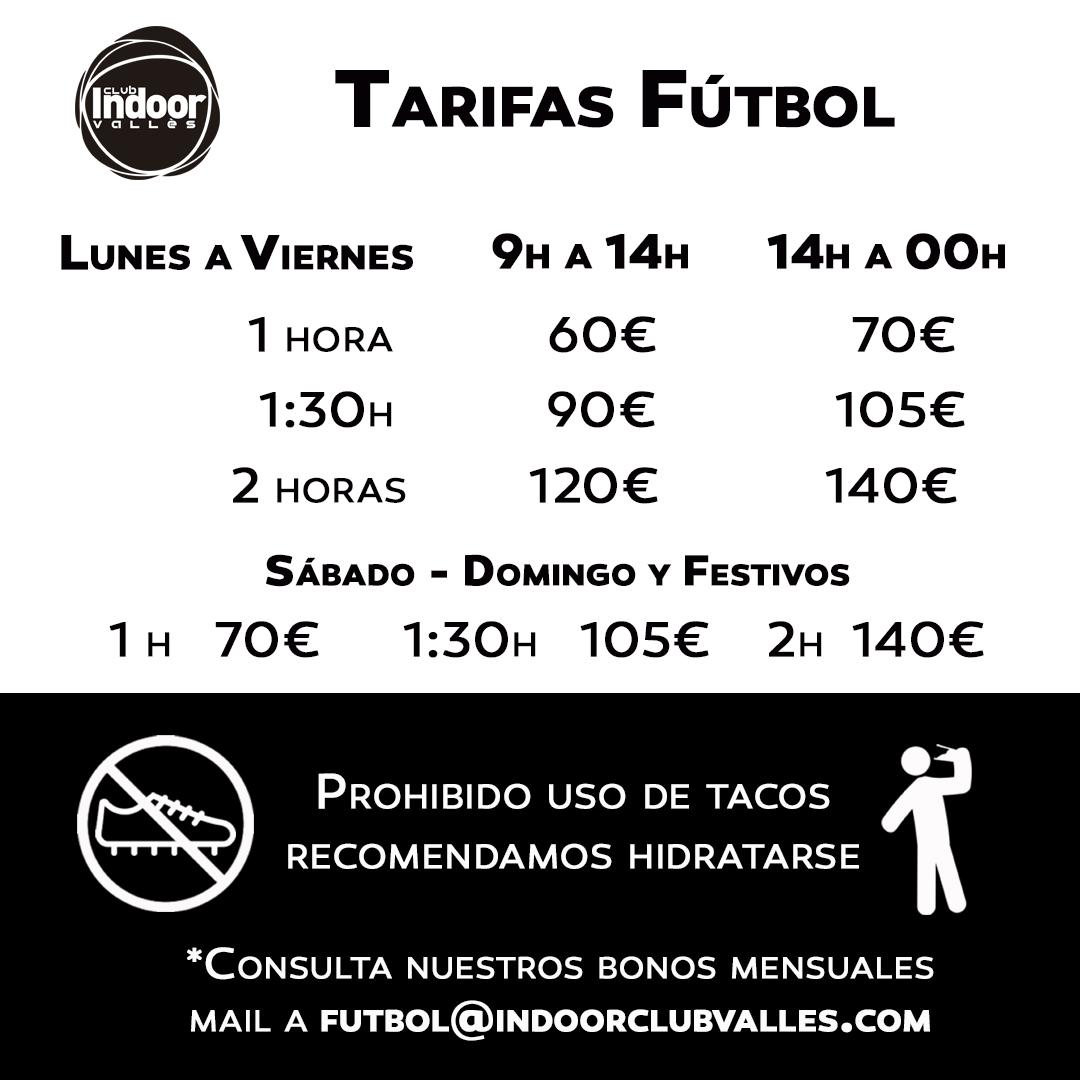 Tarifas Fútbol