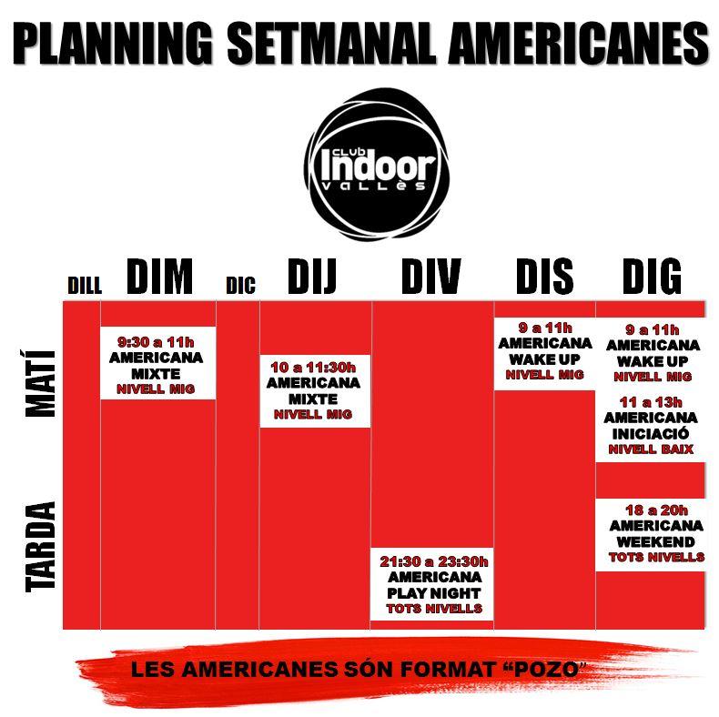 PLANNING AMERICANES WEB