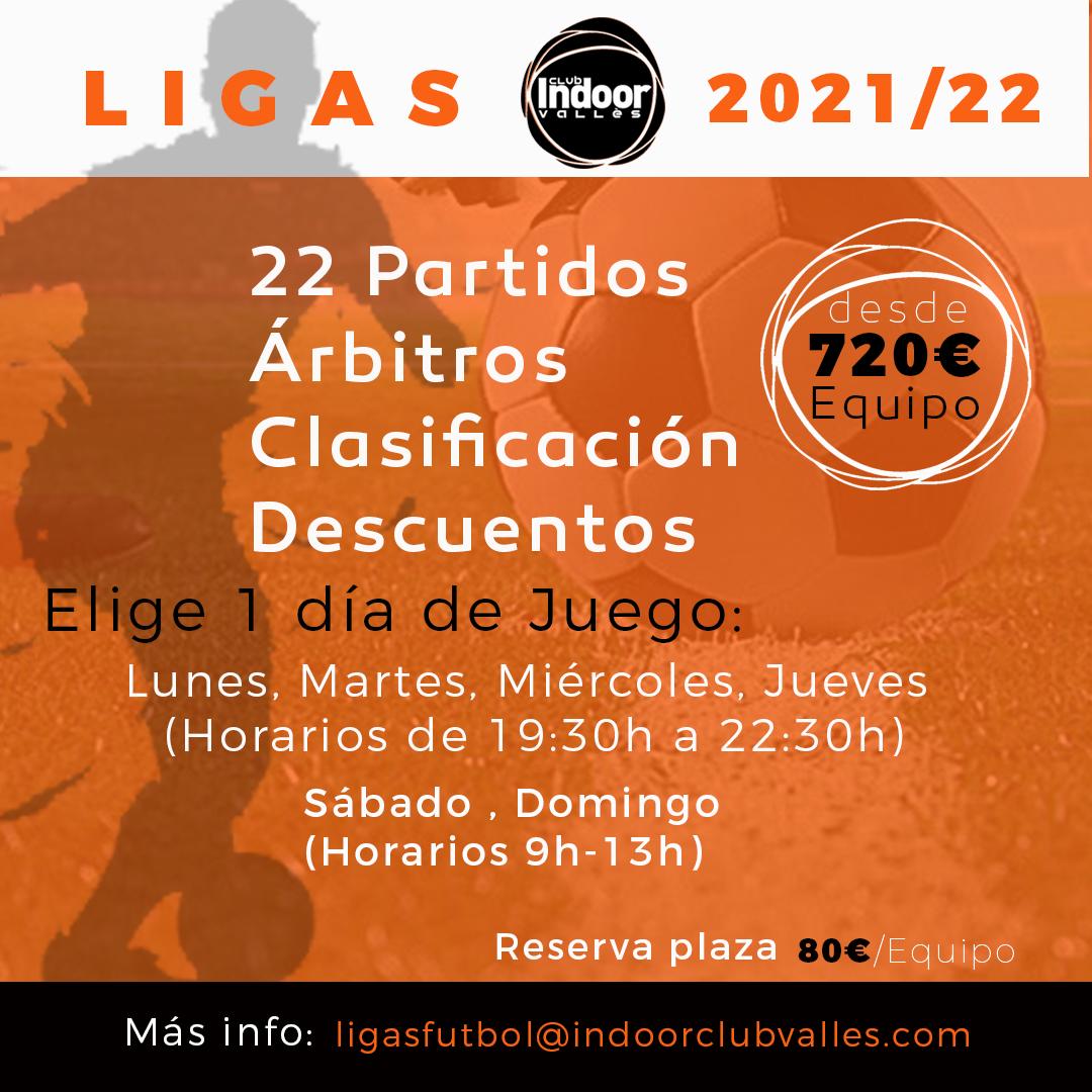 Ligas FUT 21-22 GENÉRICO muro Naranja